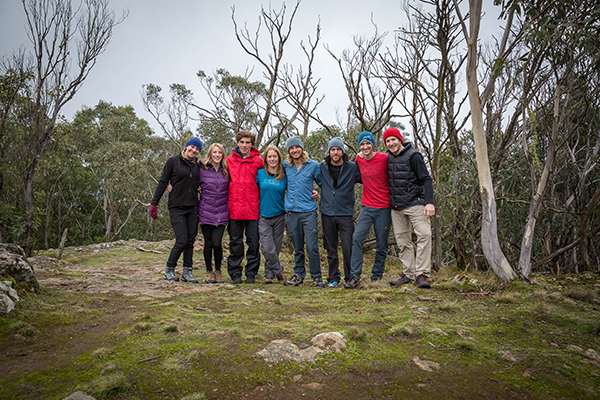 Gondwana Outdoor Addicts and Textile House Home Team members: Jean, James, Kristan, Tim, Nicole, and Teddi, in Macedon, Victoria. Photo: P1xels.